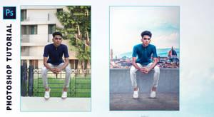 Photoshop Manipulation Tutorial | A Alone Boy Phot