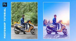 Adobe Photoshop Manipulation Tutorial - A Rider Bo