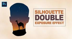 Photoshop silhouette Digital Double Exposure Tut