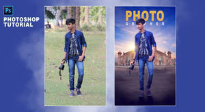 Photographer - Photoshop Manipulation Tutorial