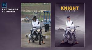 Knight Rider Photoshop Manipulation Tutorial