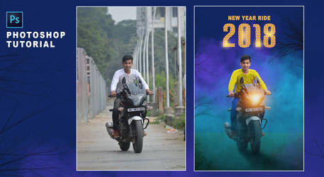 New Year Special Editing - 2018  Photoshop Photo