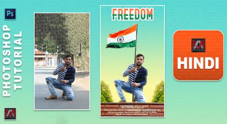 Independence day editing photoshop picsart edit