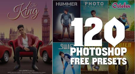 120 Photoshop Camera raw presets free download