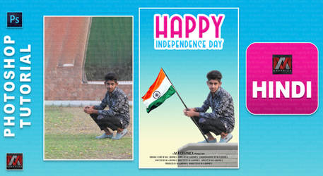 15 August Special Photoshop Editing Tutorial_ Inde