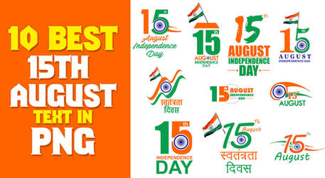 Picsart Best free 15th August Independence Day PNG