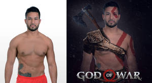 Photoshop God of War (Part-2) photo Manipulation