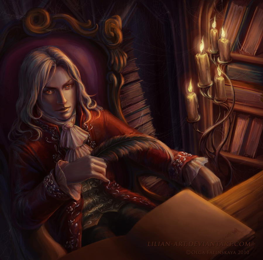 Amadeo, o favorito do mestre. Vampire_by_lilian_art-d349de1