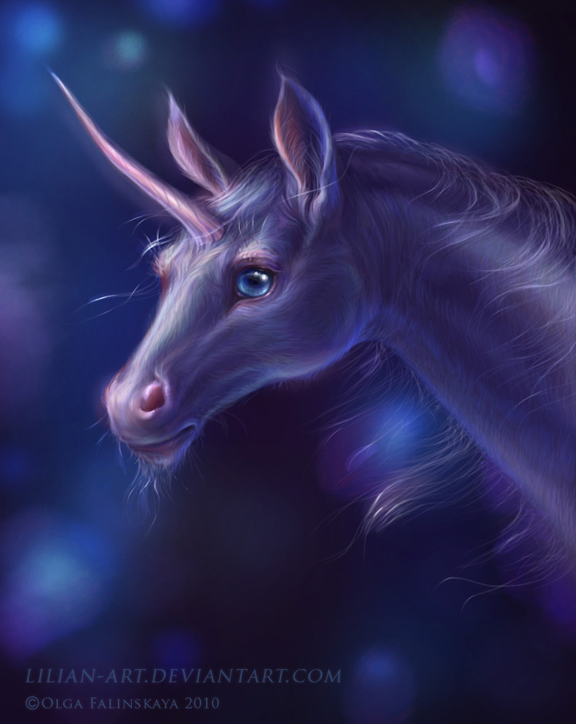 Unicorn by Lilian-art