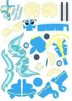 Misty Papercraft Template