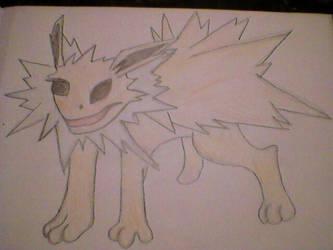 Drawing Jolteon