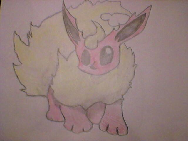 Drawing Flareon