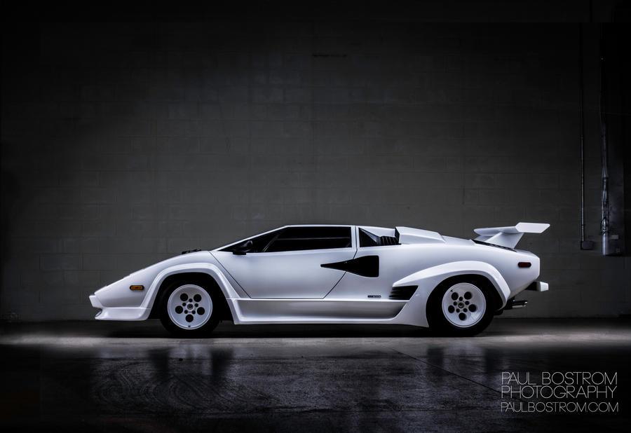 Lamborghini Countach by eviolinist