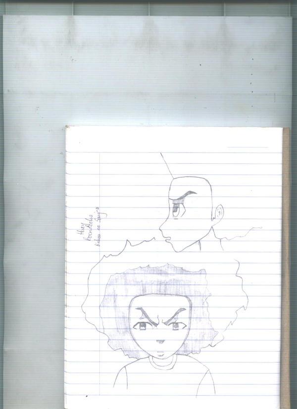 Huey Freeman sketch by bishou-no-soujiro