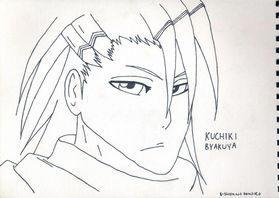 Kuchiki Byakuya by bishou-no-soujiro