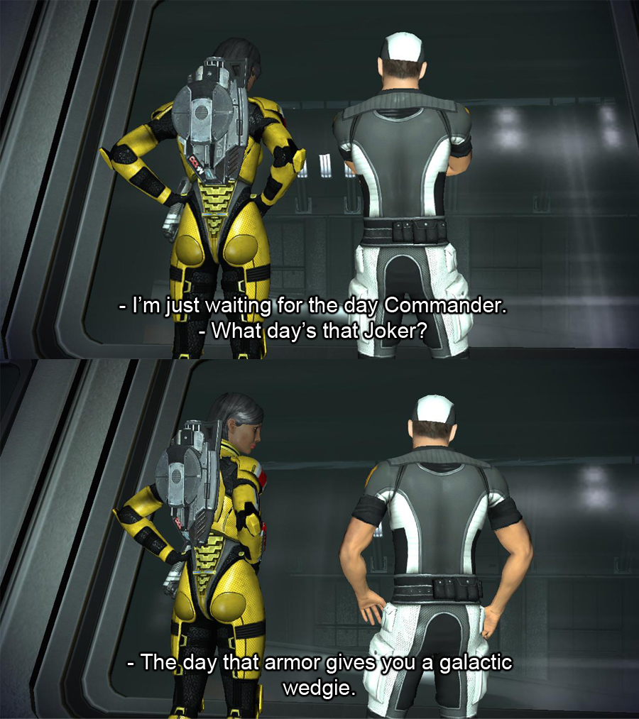 Mass Effect Screen Caps 1 by bishou-no-soujiro