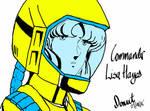 Commander Lisa Hayes by bishou-no-soujiro