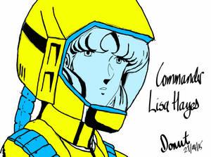 Commander Lisa Hayes