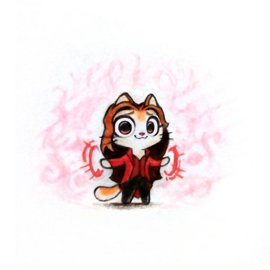 Scarlet Witch by pm-papermate