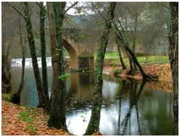 Autumn's Rain by Waterlilynl