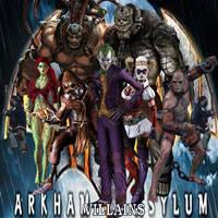 Batman: Arkham Asylum Villains by Carpe-iocus-32