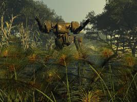 Swamp daddy by SakhanBullsEye