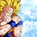 Injured Goku SSJ 3