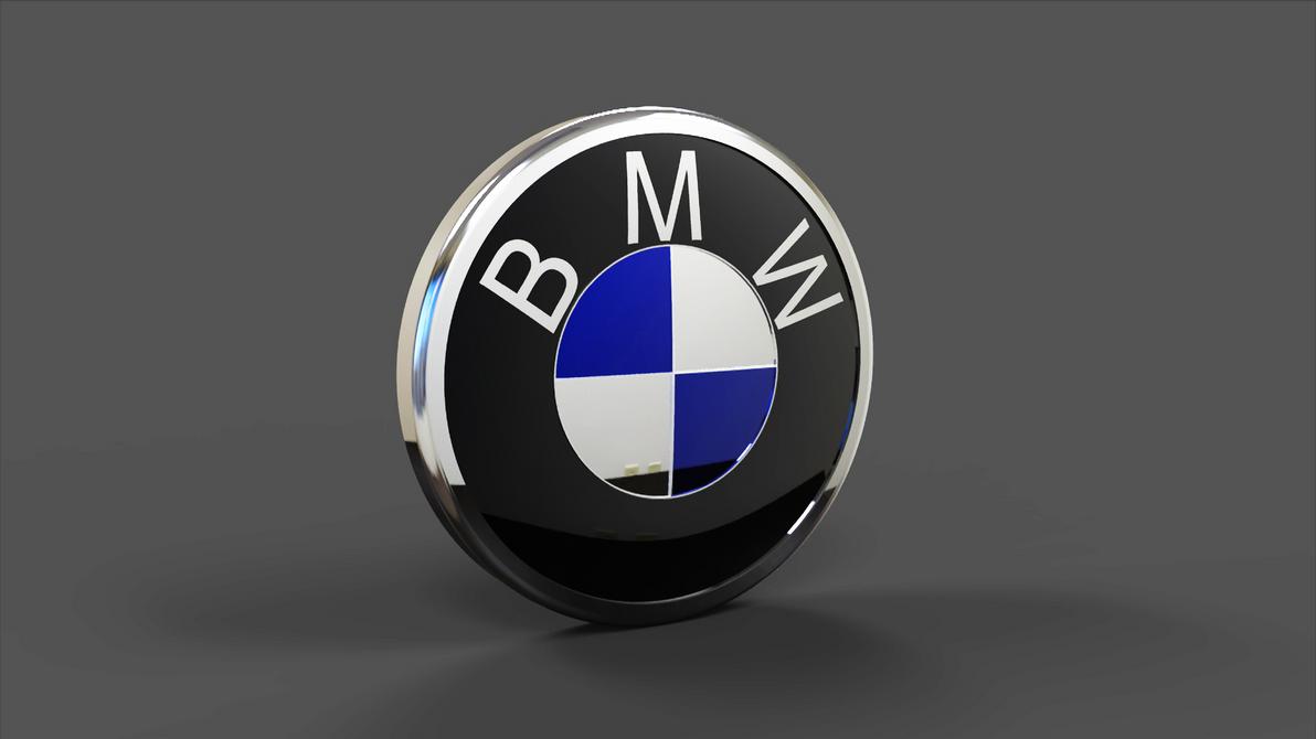 M Logo 3d 3D BMW Logo 02 ...