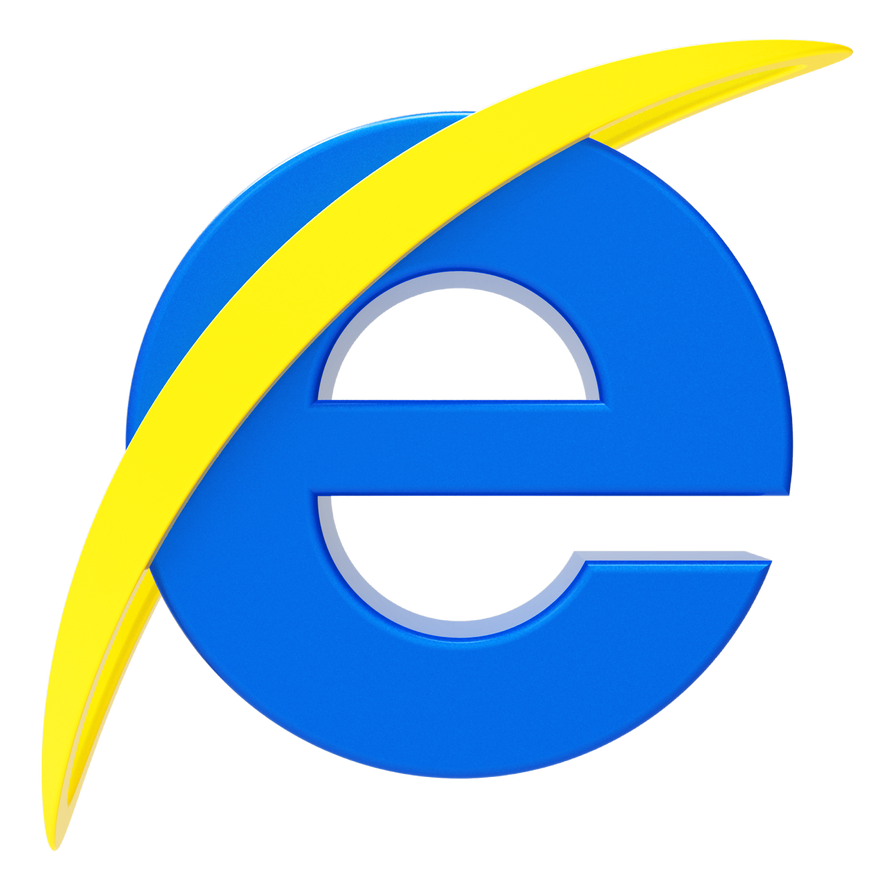 Internet explorer logo by llexandro on deviantart for Internet be and you