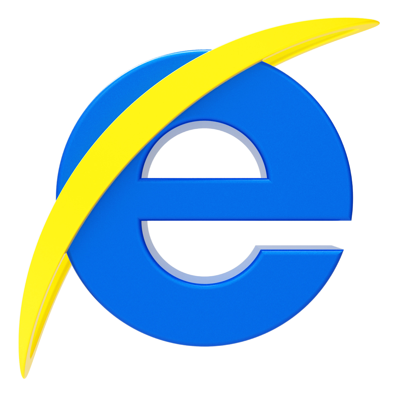 Image gallery internet explorer logo rainbow for Window explorer