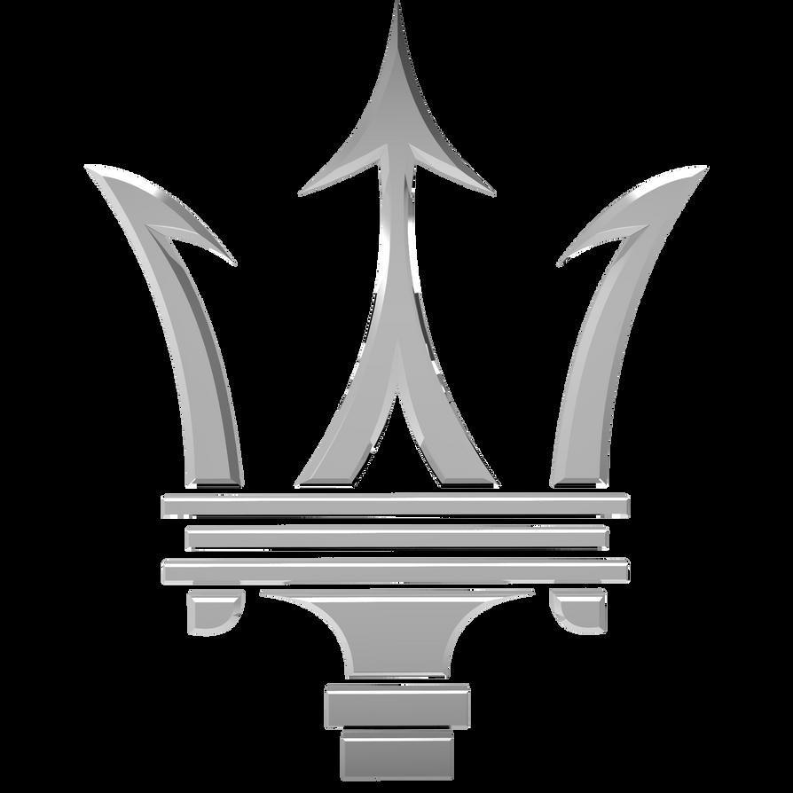 maserati logo by llexandro on deviantart