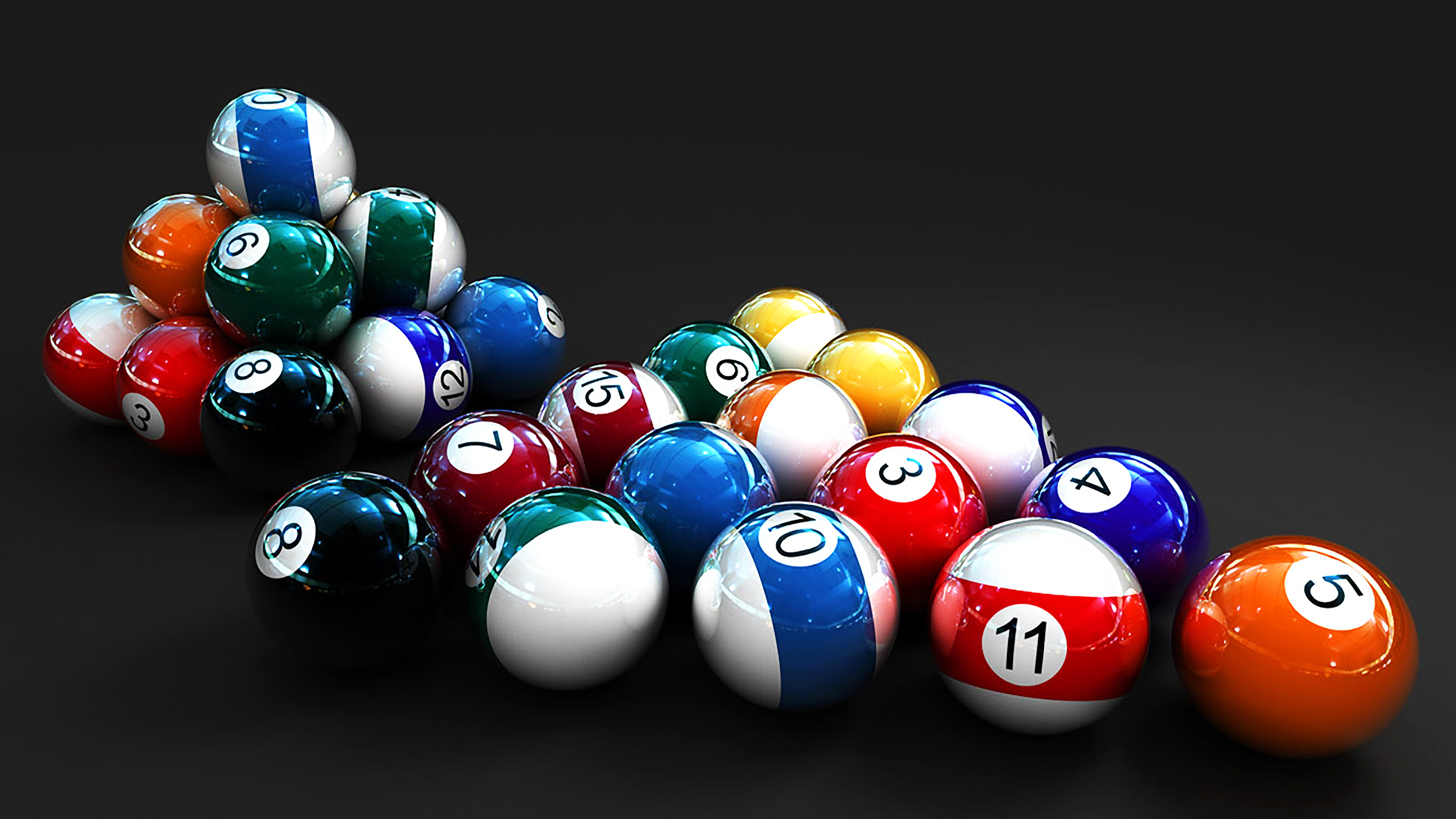 3D Billiard Balls By Llexandro On DeviantArt