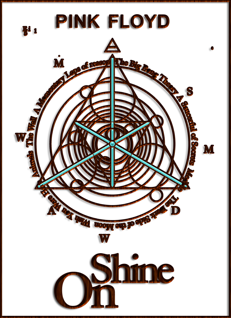 pink floyd shine on logo by llexandro on deviantart