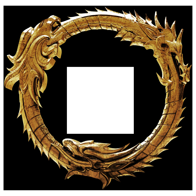 3D - The Elder Scrolls Online Ouroboros Logo 3