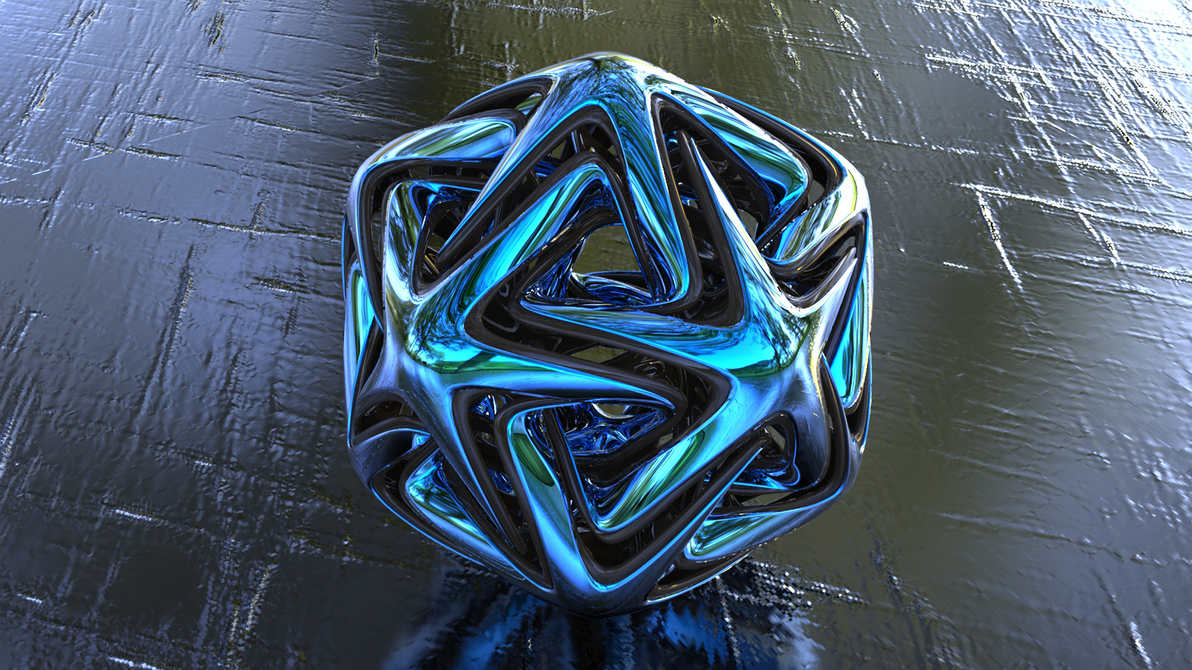 3d icosahedron star 03 by llexandro on deviantart for 3d star net