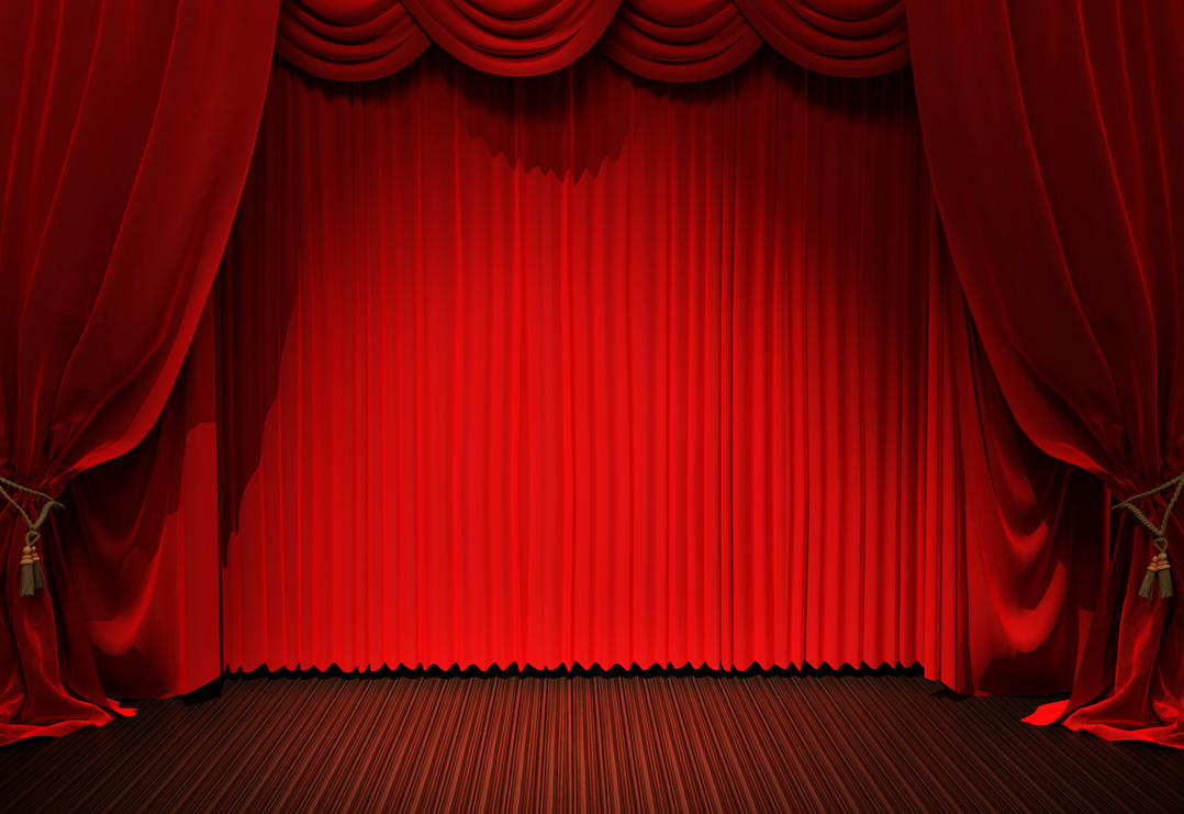 Red Curtain Background Texture 01 By Llexandro