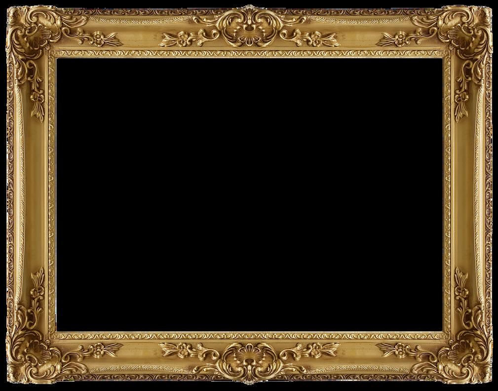 Golden Frame 01 by llexandro on DeviantArt