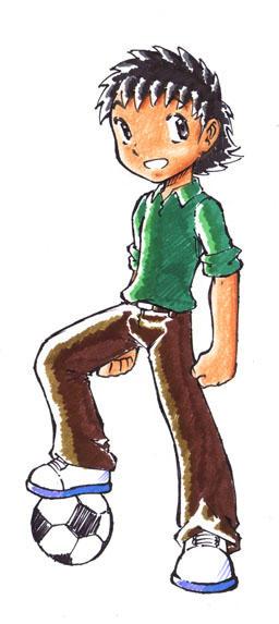 Captain Tsubasa Ozora by Gual-kun