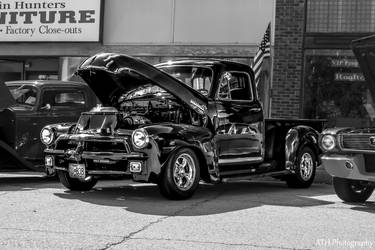 Chevy Black and White by ATHPhotography