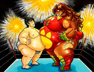 Art Trade: Overweight Enters the Ring