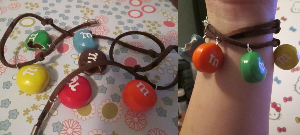 MandM Charm Bracelet by EkaUzumaki