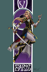 Final Fantasy Nouveau: Faris by Megadee