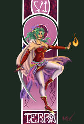 Final Fantasy Nouveau: Terra by Megadee