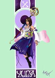 Final Fantasy Nouveau: Yuna by Megadee