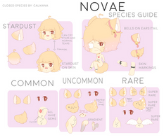 Novae Species Guide by Calikana