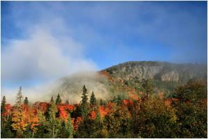 Foggy Peaks by NOS2002