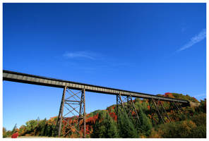 Agawa Train Bridge by NOS2002