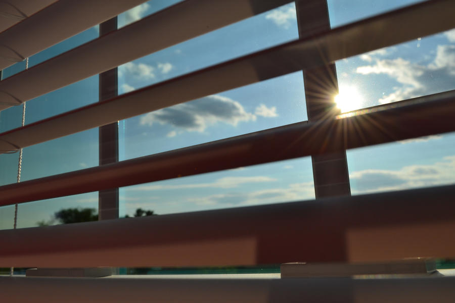 Through The Blinds by Laugh-ter