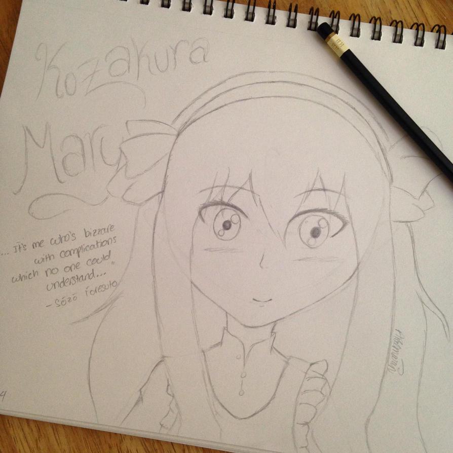 Mekakucity Actors - Mary by Hinami-Chan