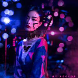 Cyberpunk theme by aimanArtZ